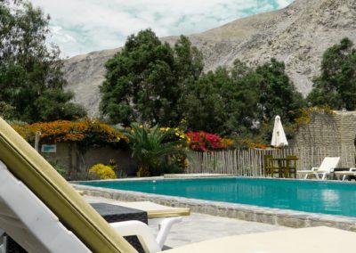Hotel con piscina Lunahuaná