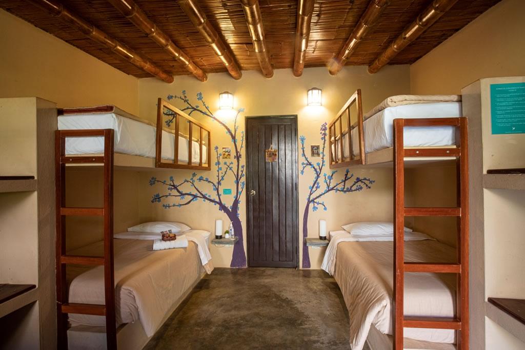 La Confianza Hotel habitacion cuadruple